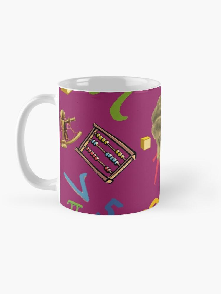 Alternate view of Ipazia - Mathematician Mug