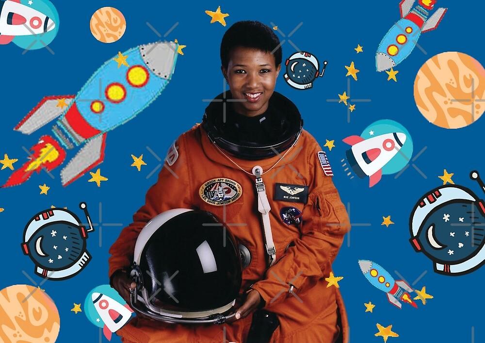 Mae Jemison - Astronaut by ihave-avoice