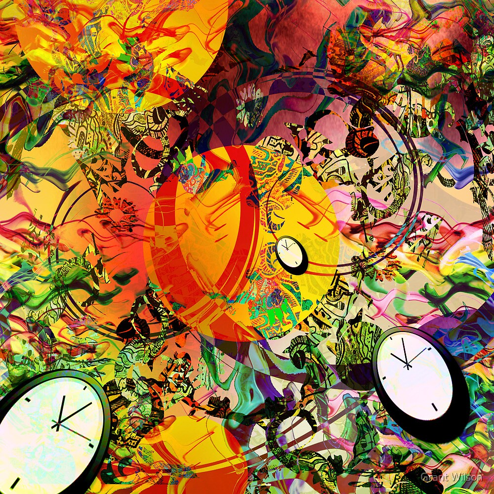Passage of time [when do the clocks go forward] by Grant Wilson