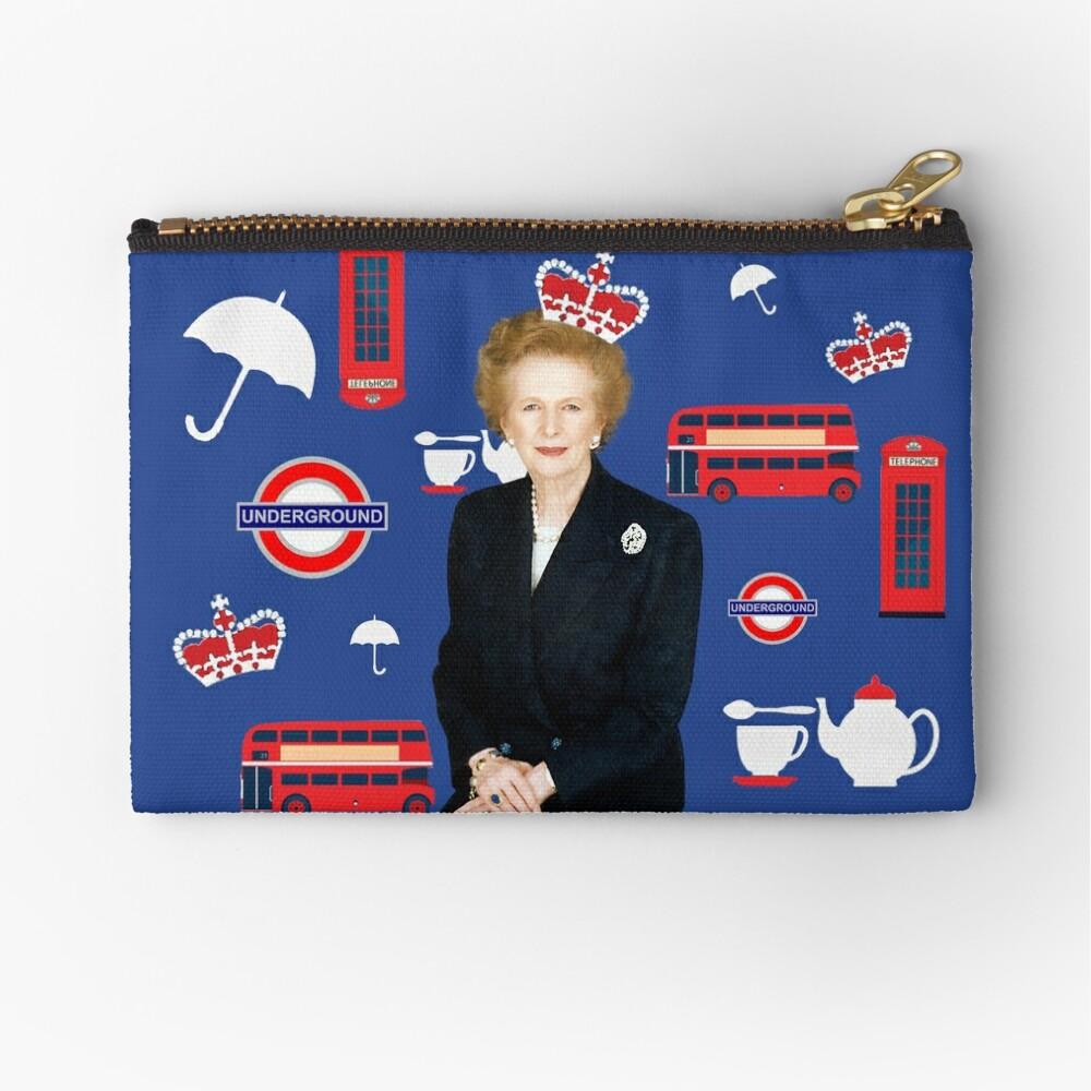 Margaret Thatcher - Prime Minister Zipper Pouch