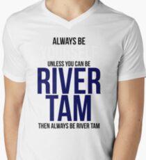 Always Be River Tam Men's V-Neck T-Shirt