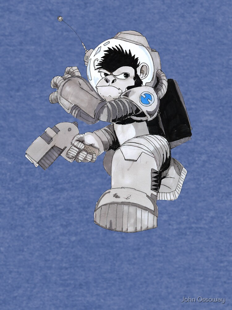 Ookie the Space Ape by jossoway