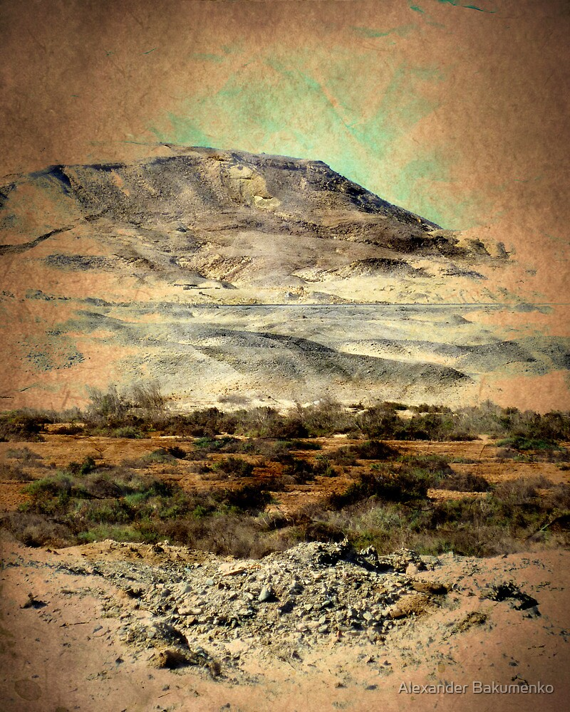 """Egyptian Mountains Landscape"" -Africa Series- by Alexander Bakumenko"