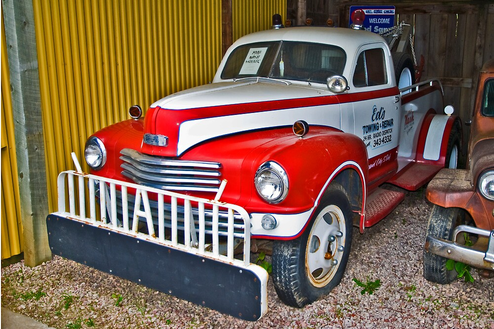 1948 Nash Tow Truck by Bryan D. Spellman
