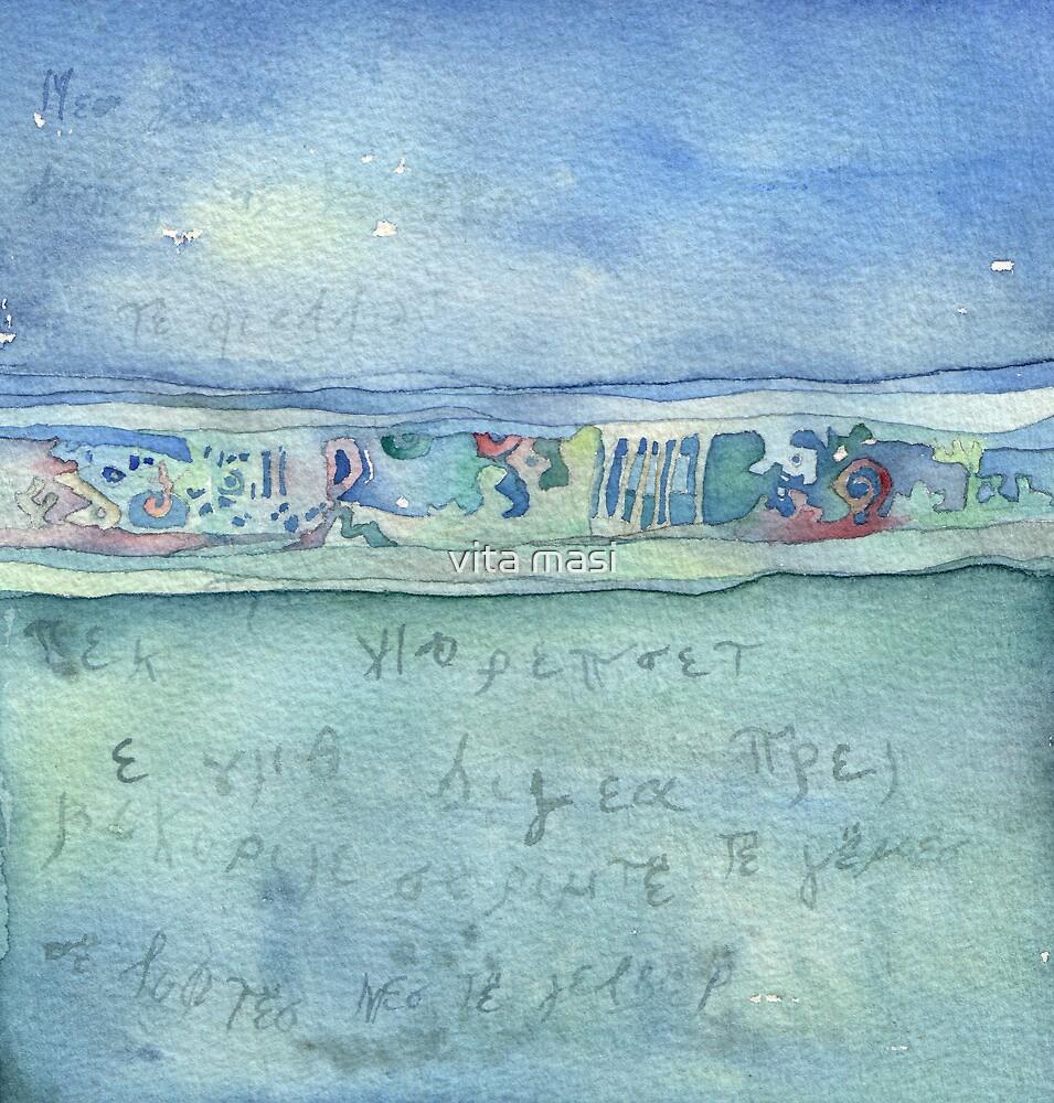 Lighea - Horizon, sky and sea by vimasi