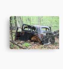 January Motor Car Metal Print