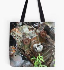 February Old Car Tote Bag