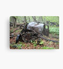 March Old Motor Car Metal Print