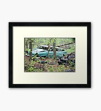 April Old Motor Car Framed Print