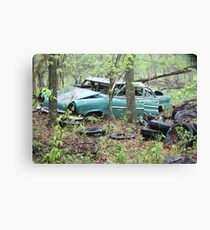 April Old Motor Car Canvas Print