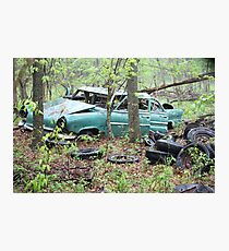 April Old Motor Car Photographic Print