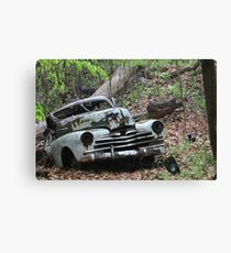 May Old Motor Car Canvas Print