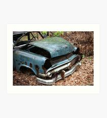 June Old Motor Car Art Print