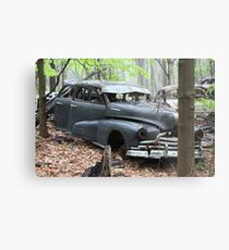August Old Motor Car Metal Print