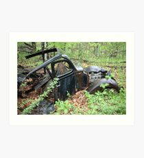 September Old Motor Car Art Print