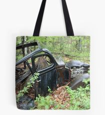 September Old Motor Car Tote Bag