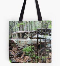 October Old Motor Car Tote Bag