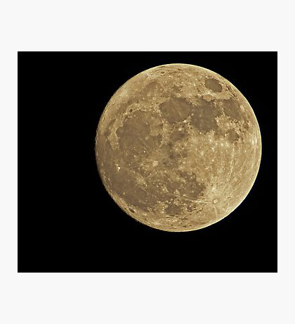 The Moon Photographic Print