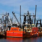 New Bedford fishing boat by Nancy Richard