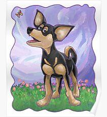 Animal Parade Chihuahua Poster