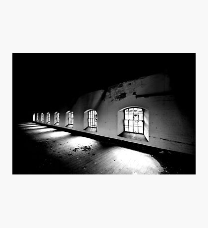 Receeding ~ Sleaford Bass Maltings Photographic Print
