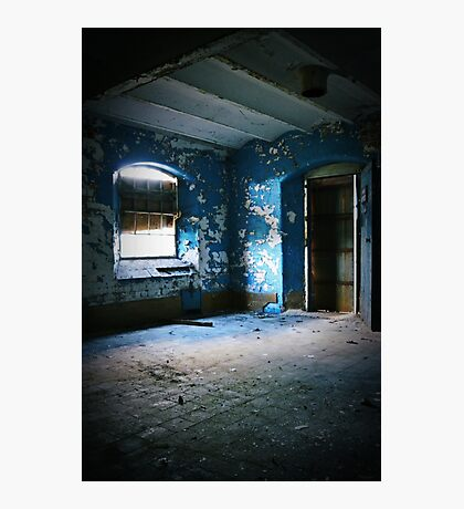 Blue View ~ Sleaford Bass Maltings Photographic Print