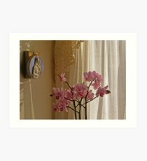 Madonna and the Orchid Art Print