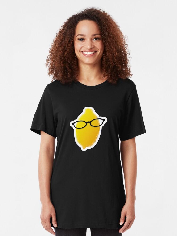 Alternate view of Liz Lemon Slim Fit T-Shirt