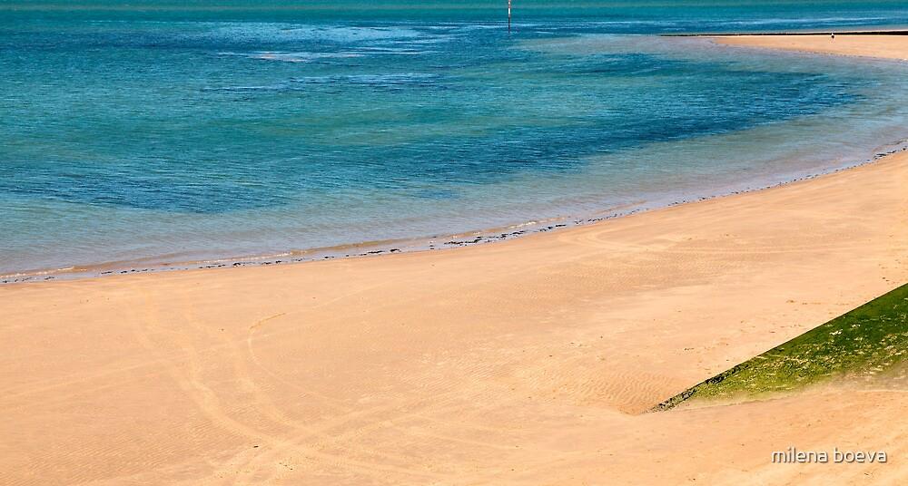 lonely beach by milena boeva