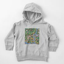 Stardew valley town map Toddler Pullover Hoodie