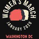 Women's March 2020 Washington DC by oddduckshirts