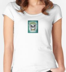 Is my brain showing Women's Fitted Scoop T-Shirt