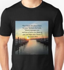 BEAUTIFUL JEREMIAH 29:11 SUNSET PHOTO T-Shirt