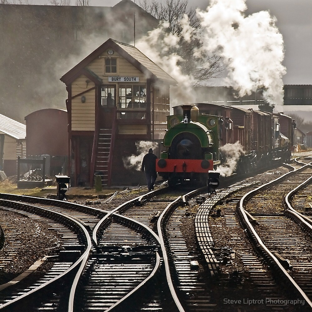 Bury Bolton St. Station by Stephen Liptrot