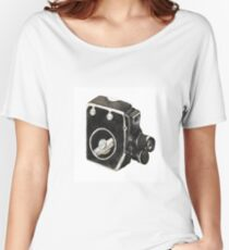 Vintage video camera Women's Relaxed Fit T-Shirt