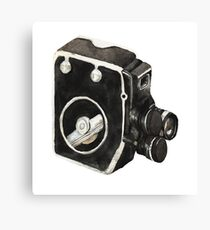 Vintage video camera Canvas Print
