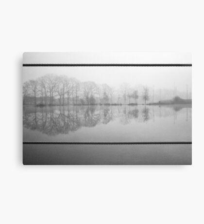 Foggy morning 1 (Reeshofpark series) Canvas Print