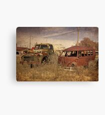 Abandoned Classics  Canvas Print