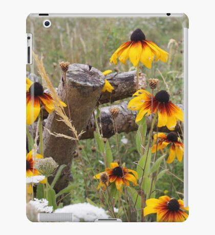 Rudbeckia and Wildflower Meadow iPad Case/Skin