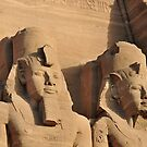 Abu Simbel.. by Michelle McMahon