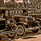 The Village Four - Ford Model A's by TWindDancer