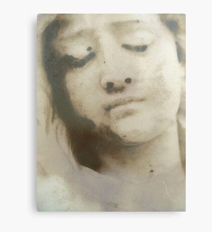 you left me.... Canvas Print