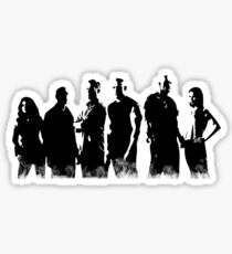 Fast and Furious 7 - Squad | B&W Sticker