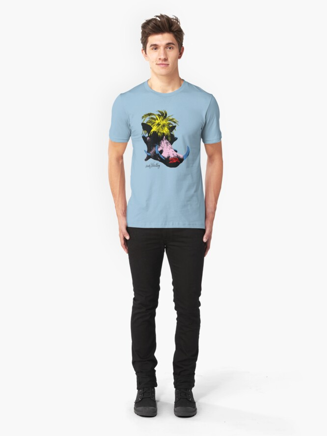Alternate view of Andy Warthog Slim Fit T-Shirt