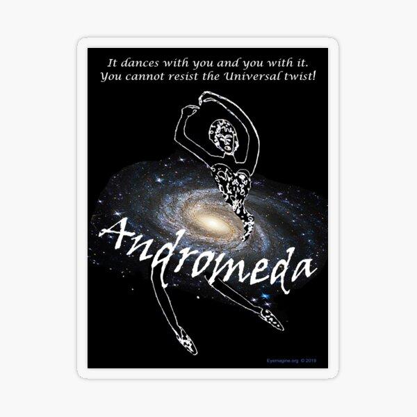 Andromeda Transparent Sticker