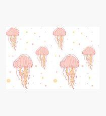 Jellyfish Bubbles Photographic Print