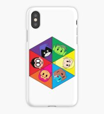 Teen Titans Chibi Hexagon iPhone Case/Skin