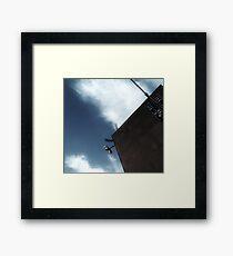 Helicopter Landing: Mission Hospital  Framed Print