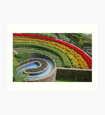 Rainbow Garden, Beer Art Print