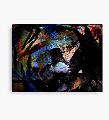 a dark horse dream... one never knows Canvas Print